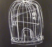 Birdcage by CherieStrongArt