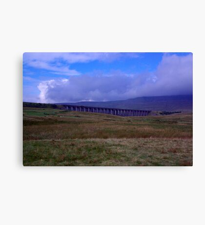 A View of Ribblehead Viaduct Canvas Print