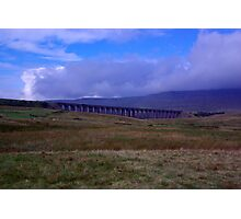 A View of Ribblehead Viaduct Photographic Print