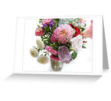 September Bouquet Greeting Card