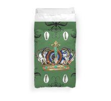 King Me Pattern Duvet Cover