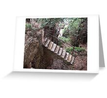 Path To Brown's Castle Greeting Card