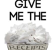 Give Me The Receipts by Jasen Klingaman