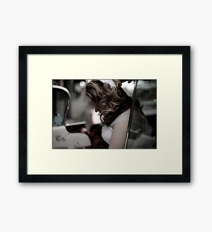 The Opening Chapter. Framed Print