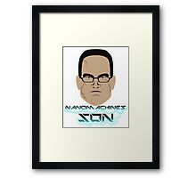 Nanomachines Son Framed Print