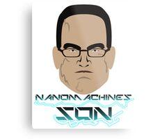 Nanomachines Son Metal Print