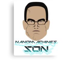 Nanomachines Son Canvas Print