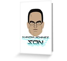 Nanomachines Son Greeting Card