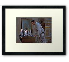 Franciscan Devotion Framed Print