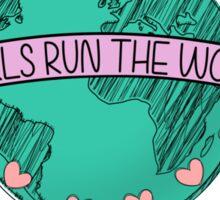 who run the world (girls, girls) Sticker