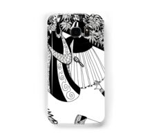 lady throwing a brush Samsung Galaxy Case/Skin