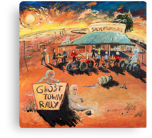 The Ghost Town Rally Canvas Print