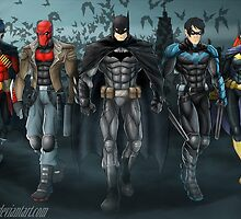 Batfamily by Shamserg
