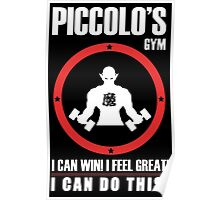 Piccolo's Gym Poster