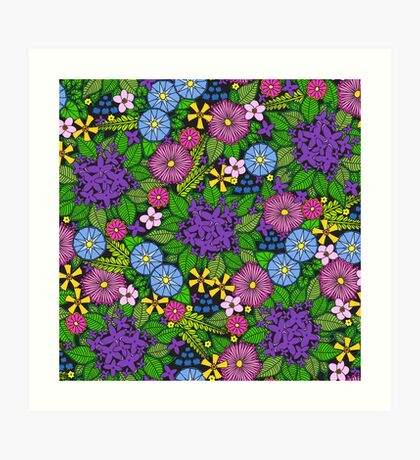 Wild Wildflowers Art Print