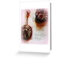 Ceramic Earrings Greeting Card