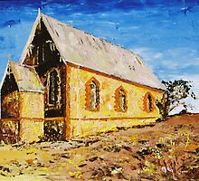 Silverton Church by Sue Hodge