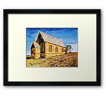 Silverton Church Framed Print