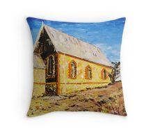 Silverton Church Throw Pillow