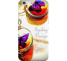Ceramic Butterfly Earrings iPhone Case/Skin