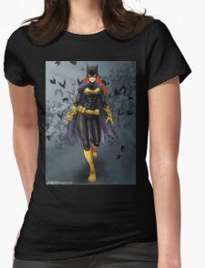 Batgirl Womens Fitted T-Shirt