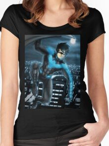 Nighwing Women's Fitted Scoop T-Shirt