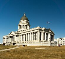 Utah State Capitol Building by Brent Olson