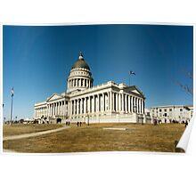 Utah State Capitol Building Poster