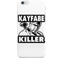 Kayfabe Killer iPhone Case/Skin