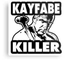 Kayfabe Killer Metal Print