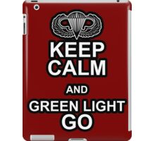 Green Light Go! iPad Case/Skin