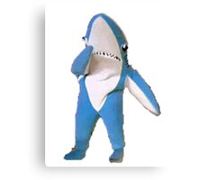 Superbowl Left Shark Canvas Print