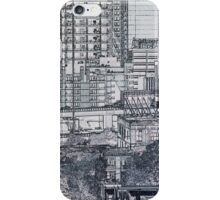 Construction Paper City - view 2 iPhone Case/Skin