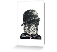 Brother Malcolm Greeting Card