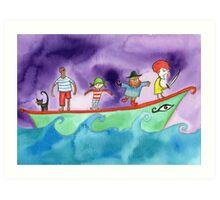 Ship of Fools Art Print