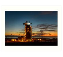 Ready to Launch Art Print