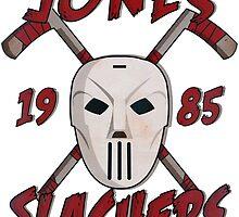 Jones Slashers Mask & CrossSticks by Numnizzle