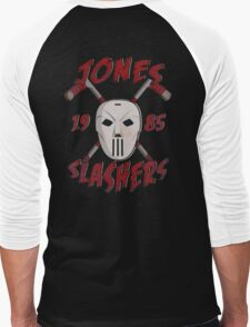 Jones Slashers Mask & CrossSticks Men's Baseball ¾ T-Shirt