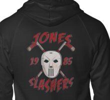 Jones Slashers Mask & CrossSticks Zipped Hoodie