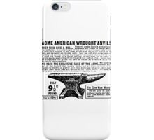 ACME - Anvils iPhone Case/Skin