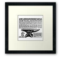 ACME - Anvils Framed Print