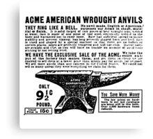 ACME - Anvils Canvas Print