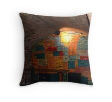 main stage/ Cavern Club Throw Pillow