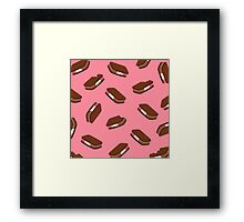 Ice Cream Sandwiches in Neapolitan Framed Print