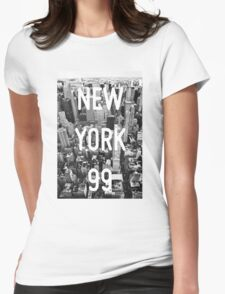 New York 99 Womens Fitted T-Shirt