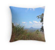 glasshouse mts australia Throw Pillow