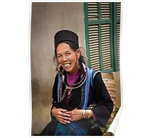 Vietnam - Sapa ... Village Lady #02 Poster