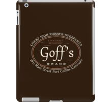 Goff's Brand Chest High Rubber Overpants iPad Case/Skin