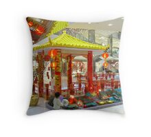 The chinese pavilion Throw Pillow