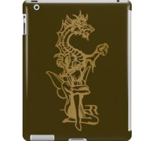 Dragon and fairy iPad Case/Skin